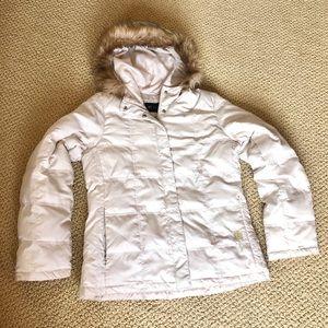 Kenneth Cole Faux Fur Hood Puffer Jacket XS